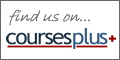 find us on courses plus+