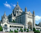 Basilique Ste-Therese, Normandy. France